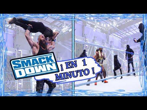 ¡SMACKDOWN EN 1 MINUTO! | 14 / Agosto / 2020 - Dentro y Fuera de la Lona