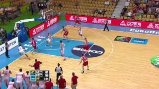 Postgame Sanikidze, Draper CRO-GEO EuroBasket 2013