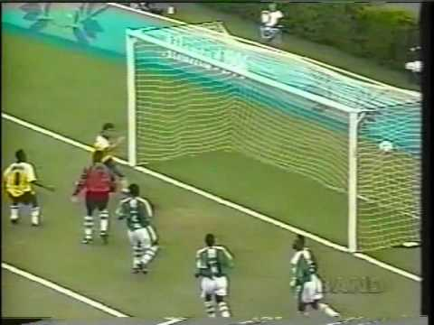 96 - http://www.2dramasports.com Presents Nigeria Vs Brazil 1996 Olympic Games Semi-​Finals. Nigeria wins by 4 goals to 3. Goal scored by Flavio Conceição 1'...