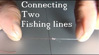 Video Tie 2 Fishing Lines Together - The Easy & Strong Knot MP3, 3GP, MP4, WEBM, AVI, FLV Oktober 2018