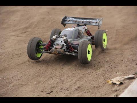 1st final Buggy 1:8 RC race \