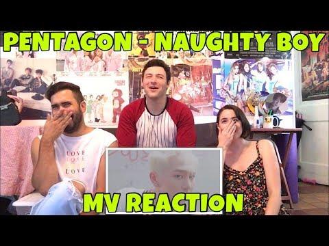 Video PENTAGON (펜타곤) - Naughty Boy (청개구리) MV Reaction [WHAT'S BETTER THAN CHICKEN AND CUTE BOYS?] download in MP3, 3GP, MP4, WEBM, AVI, FLV January 2017