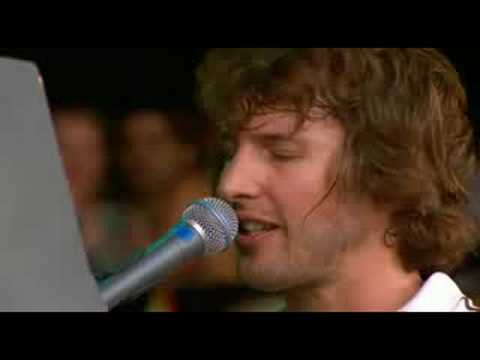 James Blunt performing 'Goodbye My Lover', live in concert at Glastonbury 2008 !