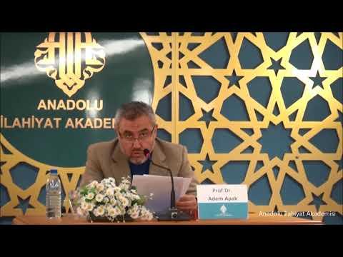 Prof. Dr. Adem APAK ile Muhammed Hamidullah Konulu Seminer