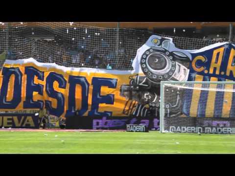 Video - Recibimiento de Rosario Central en el clásico. - Los Guerreros - Rosario Central - Argentina