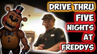Video DRIVE THRU FIVE NIGHTS AT FREDDY'S!! MP3, 3GP, MP4, WEBM, AVI, FLV September 2017