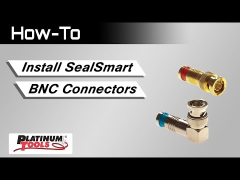 SealSmart BNC Connectors