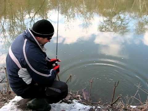 ловля окуня на северском донце видео