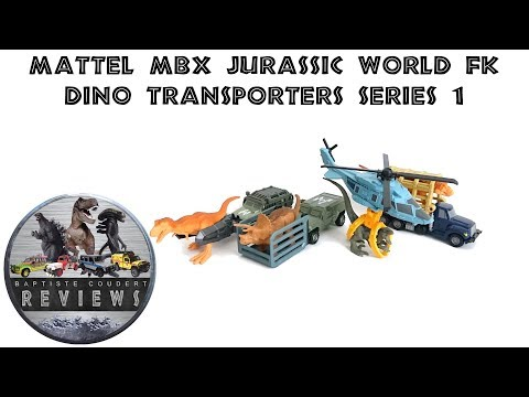 Video Review: 2018 Mattel Jurassic World Fallen Kingdom Matchbox Dino Transporters Series 1