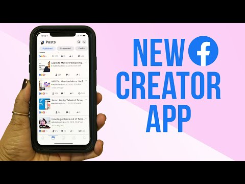 Watch 'How To Track Facebook Page Stats in the New Creator Studio App '
