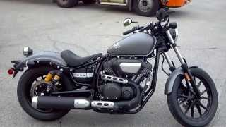 8. 2014 YAMAHA STAR BOLT 950 R-SPEC IN GREY AND BLACK