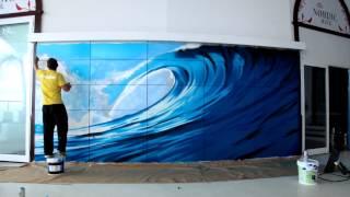 Timelapse Kant Graff en Discoteca Aqua Lanzarote
