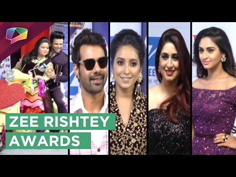 Television Celebrities rock the red carpet at Zee
