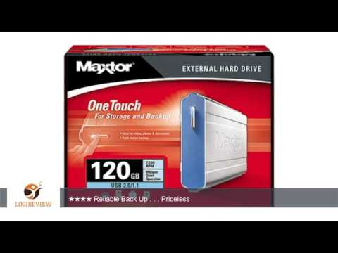 Maxtor A01B120 OneTouch USB 7200 RPM 120 GB External Hard Drive | Review/Test