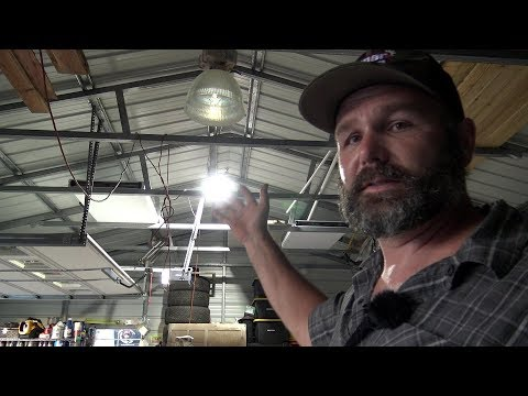 Cool new led shop upgrade install with discount code!