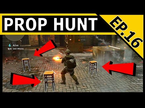 TROLLING PROP CHALLENGE - Call Of Duty WW2 PROP HUNT EP.16 - This is so evil!!!