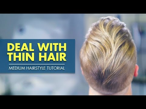 Mens hairstyles - Medium Hairstyle for Thin Hair  Best Men's Inspiration