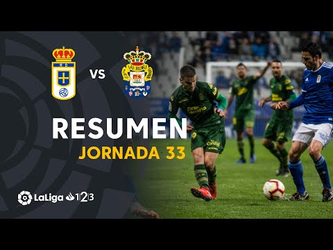 Resumen de Real Oviedo vs UD Las Palmas (1-1)