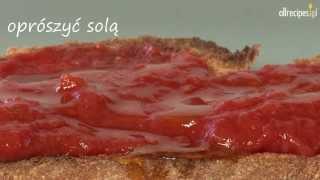 Chleb pomidorowy po hiszpańsku