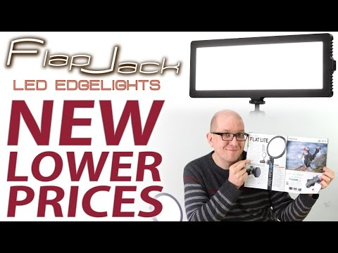 Save up to $100 on FlapJack LED Edgelights from Fotodiox