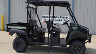 8. SALE $10,399:  2016 Kawasaki Mule 4010 Trans Special Edition