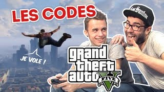 Video Cyprien Squeezie - GTA 5 : les codes ! MP3, 3GP, MP4, WEBM, AVI, FLV Mei 2017