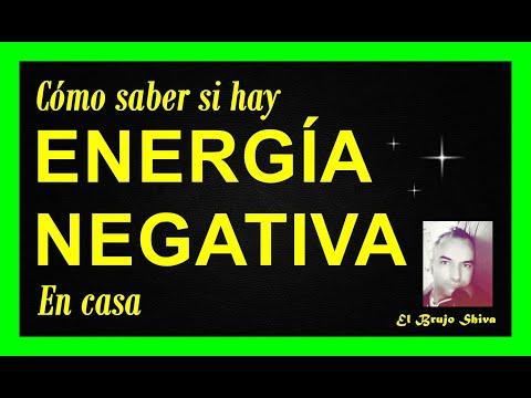 Cómo saber si hay energía negativa en casa