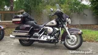 10. Used 1998 Harley Davidson Electra Glide Classic Motorcycles for sale - Tampa, FL