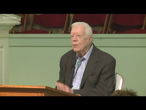 Jimmy Carter re-admitted to hospital over the weekend