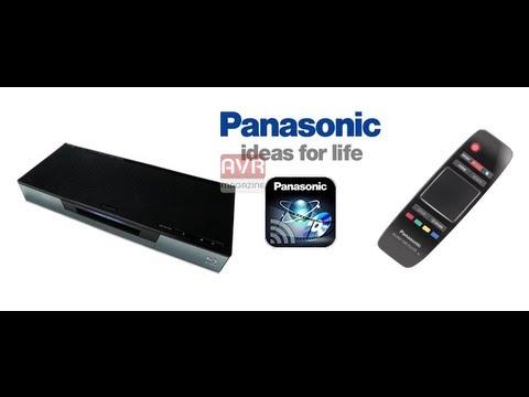 Panasonic Blu-ray Remote 2012- App per iOS & Android - Video Recensione - AVRMagazine.com