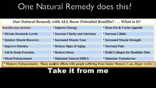 Natural Herbal Remedies YouTube video
