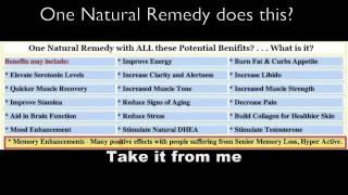 Natural Herbal Remedies YouTube video