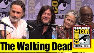 VIDEO: THE WALKING DEAD – Full Panel Highlights SDCC2017