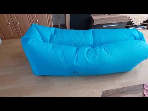 Ein bequemes Sofa aus der Tasche? Benuo Camping Luftmatratze Schlafsack Aufblasbares Sofa