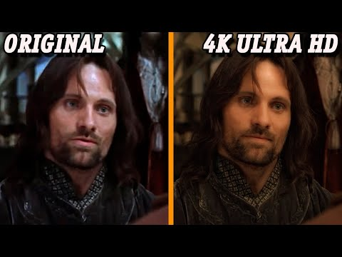 The Lord of The Rings Trilogy 4K Ultra HD vs Original   Graphics Comparison   2020