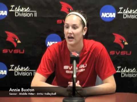 SVSU Volleyball - Annie Buxton