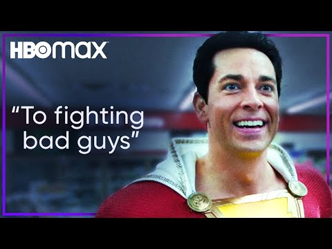 Shazam Uncovers His Superpowers   HBO Max