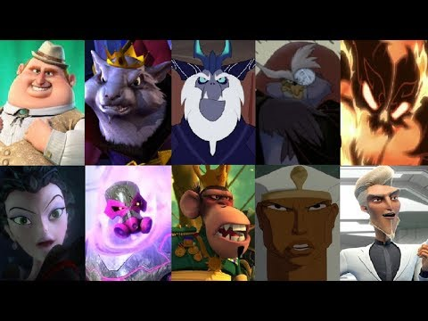 Defeats Of My Favorite Animated Non Disney Movie Villains Part 17