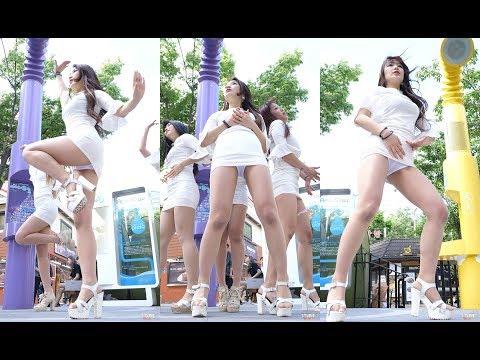 性感韩国美女团队热舞