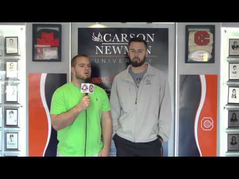 Carson-Newman Track and Field: Tyler Stepp Interview 3-9-16
