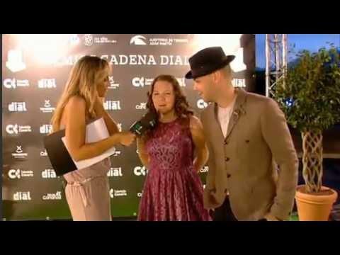 Jesse & Joy - Entrevista en Alfombra Premios Cadena Dial (Tenerife)