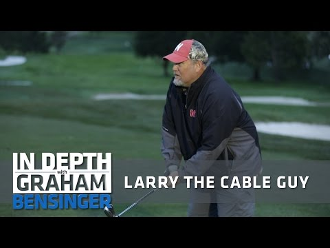 Larry the Cable Guy: Check out my golf skills