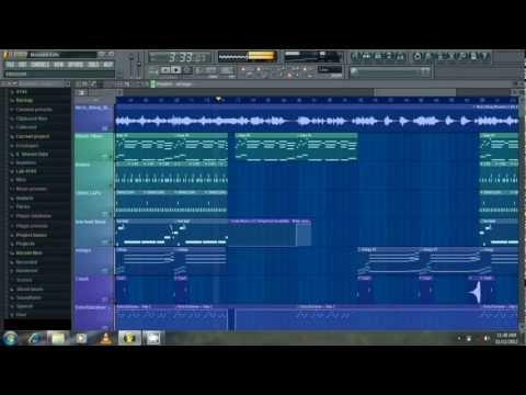Nicki Minaj ft  Drake - Moment for life Dida Steez Remake Tutorial + mp3 FL Studio 10
