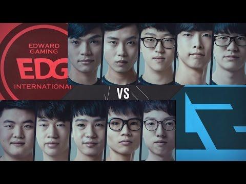 2017/3/5 LPL精華 小組首名對決 EDG vs RNG