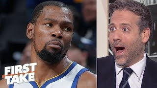 If the 'sorry Knicks' get KD or ANY top free agent, I'll be shocked! - Max Kellerman | First Take