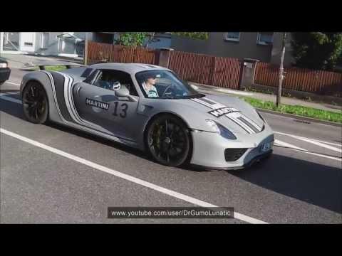 Testing the Porsche 911