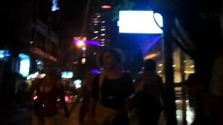 Walk Down Sukhumvit Soi 11 By Clubs Bars Restaurants To Oskar Bar To Meet Friends - Phil In Bangkok