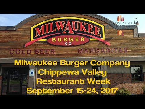 Milwaukee Burger Company - Chippewa Valley Restaurant Week - Eau Claire WI - Sept 2017