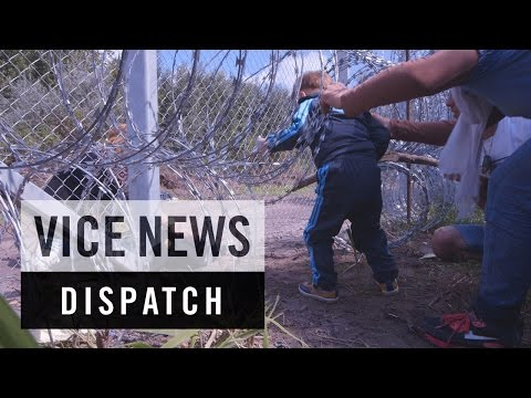 Cutting Through Hungary's Razor Wire Fence: Breaking Borders