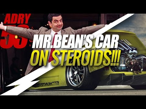 Mr.Bean's Mini On Steroids ★ Timelapse [Virtual Tuning] - Adry53